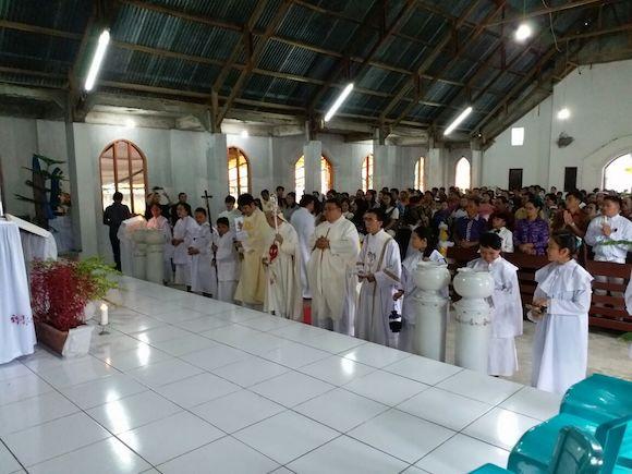 Kebersamaan uskup dan mat